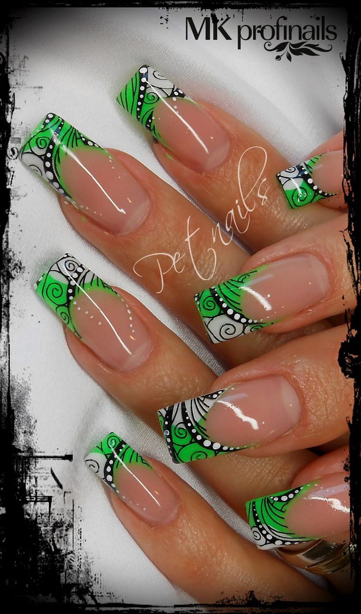 Fotogalerie Petnails: 6591 Best Funky French Tip Nails Images On Pinterest