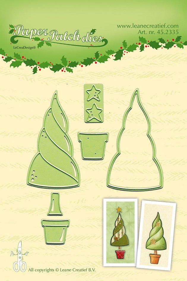 Leane Creatief Lea'bilities Paper Patch Tree Die Set