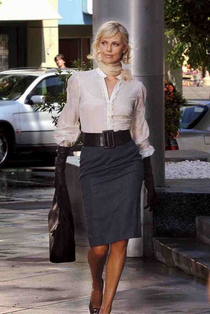 Charlize Theron /  great ladylike style here                                                                                                                                                      More
