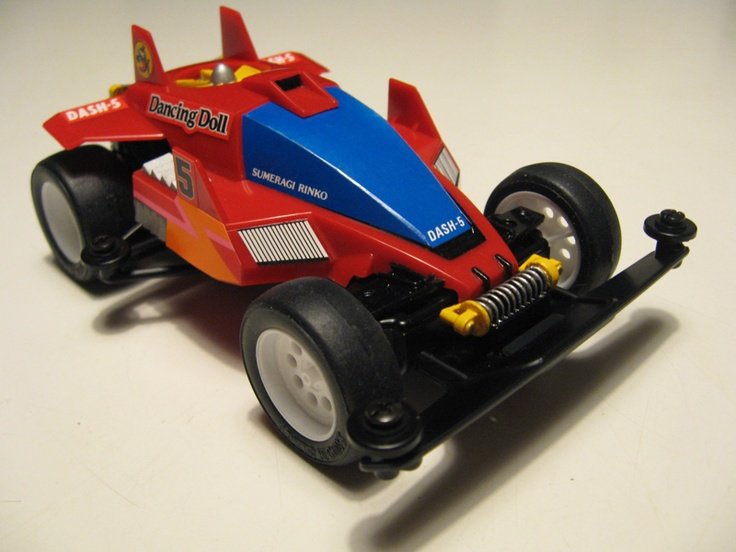 Dash 5 Dancing Doll by Aran (original) | Mini 4WD | #Mini4WD | #Tamiya