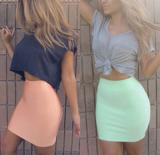 Crop tops tumblr - Pesquisa Google | Girls just wanna have fun | Pinterest | Fashion Skirt ...