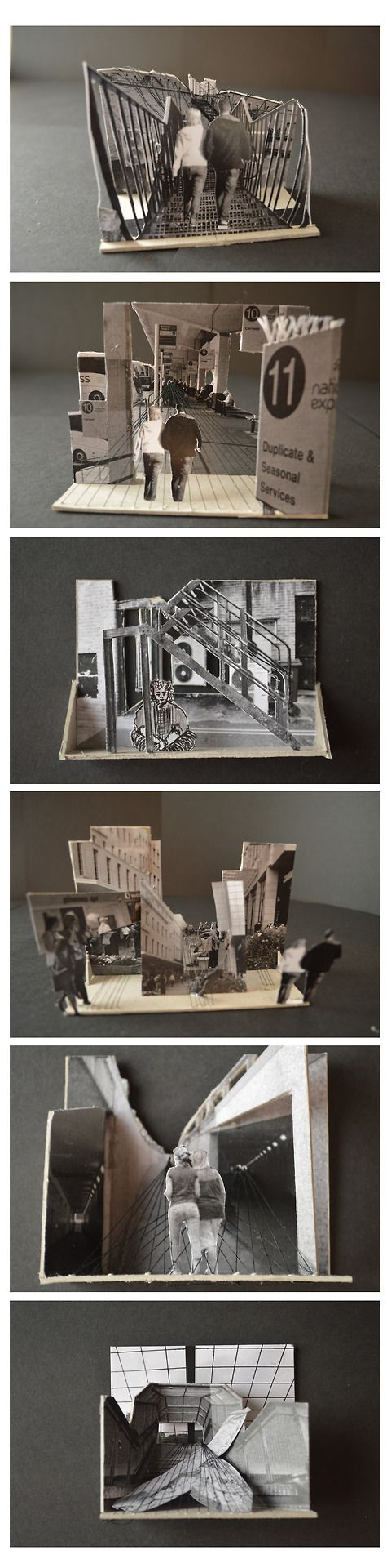 layering and morphing  Architectural Models: Photo