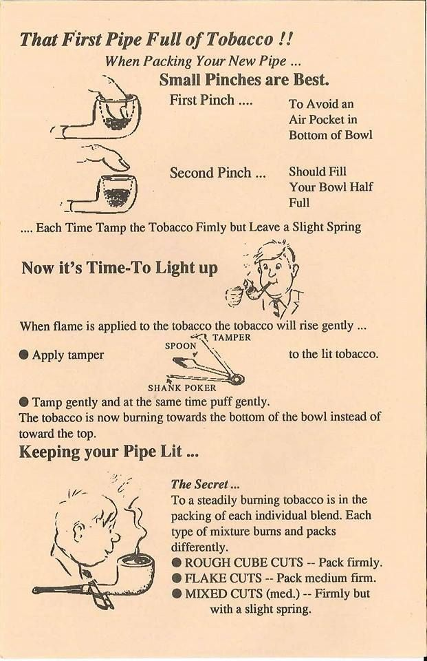 Some all important hints and tips for filling your pipe… http://www.eacarey.co.uk/2015/12/pipe-dreams-pack-in/