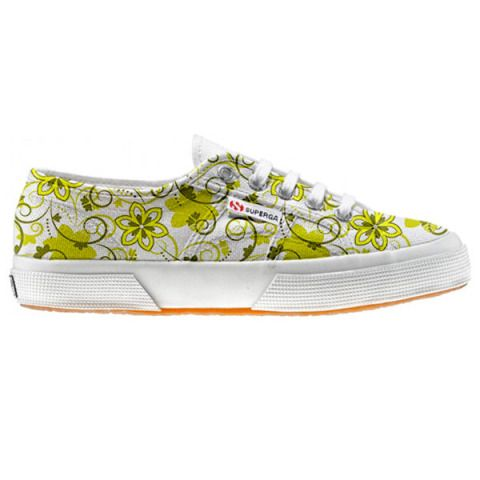 Shoe Superga cutomized Summer Paisley