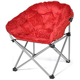 folding club chair red at big lots that house pinterest. Black Bedroom Furniture Sets. Home Design Ideas