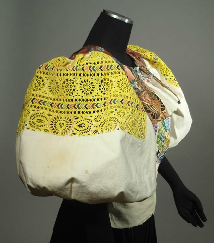 RARE Antique Slovak Folk Costume Heavily Embroidered Blouse Vest Detva Kroj | eBay