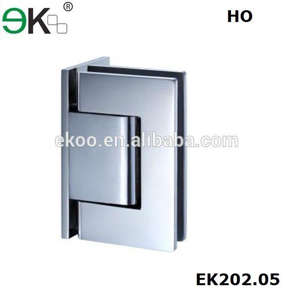 Glass door weight 65kg wall to glass fixing hinge suit for 10 panel glass door