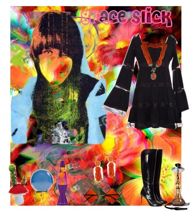 Grace Slick By Lillian Pandola On Polyvore Featuring Polyvore Fashion Style Gucci Retr