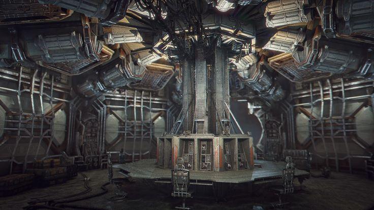 Arti-Facto: Interior de naves espaciales de ciencia ficción