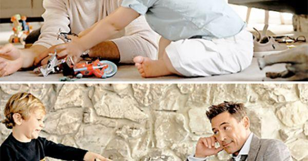 Robert Downey Jr. and his son Exton Elias Downey, 2. (2014 Vanity Fair photoshoot) | Robert downey | Pinterest | Vanity Fair, Photoshoot and Vanities