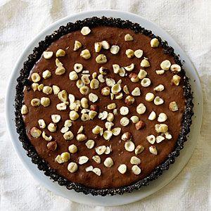 Hazelnut Chocolate Mousse Tart | MyRecipes.com