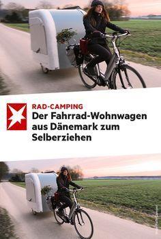 Bike Wohnanhänger - Wohnwagen - #Bike #Wohnanhänger #Wohnwagen