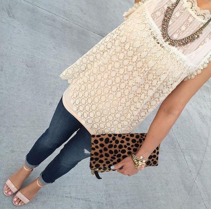 I like lace too!