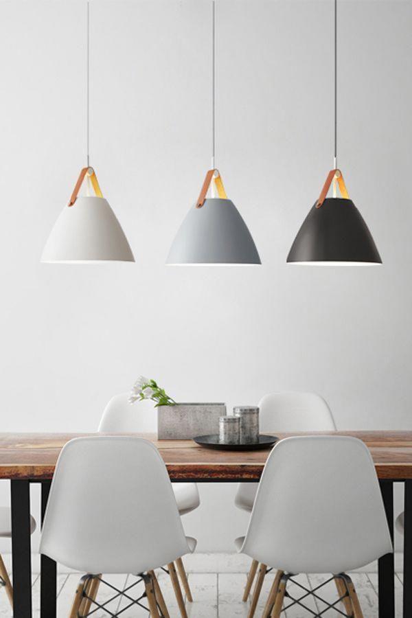 Modern Nordic Pendant Lights For Over Kitchen Island Bathroom Dining Room Bedroom Ent In 2020 Modern Hanging Lights Dining Table Lighting Modern Pendant Light
