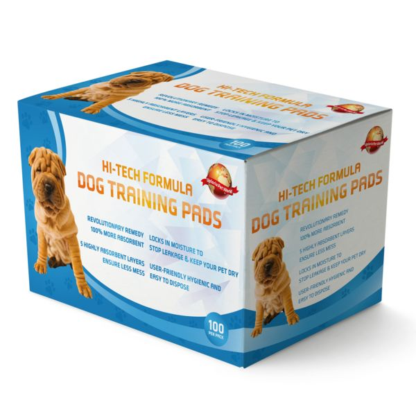 Puppy Training Pads Pack Of 100 Extra Large Size  These puppy-training pads don't slip, don't leak, are of a good size and are easy to collect up and throw away. People use these as an exclusive toilet for their pets and most puppies will use them straight away! They absorb the smell too and are unscented. They soak up any urine and the plastic backing prevents it from soaking through.