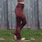 Damen Bleistift Skinny Elastisch Hohe Taille Leggings Retro Steampunk Ball Hose …