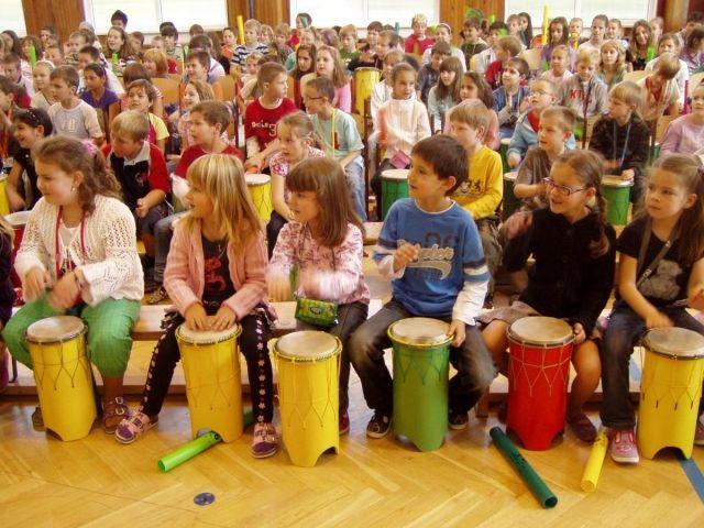 korporátní bubnování pro děti