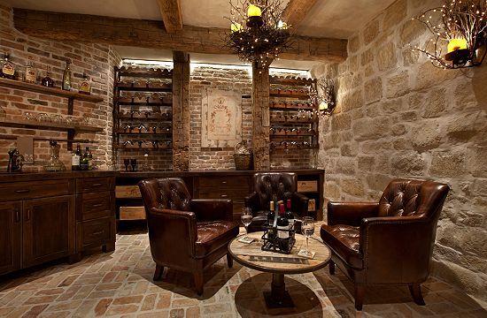 Wine Cellar by Eklektik Interiors Houston, TX