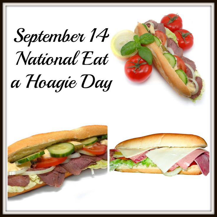 It's the everyman—and everywoman— sandwich. Wrap your hands around a big honkin' hoagie and take a bite!