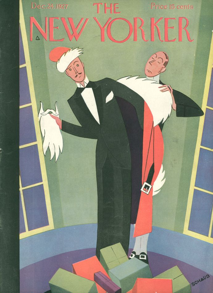 "Slide Show: Holiday Covers - The New Yorker: ""December 24, 1927,"" by Andre De Schaub."