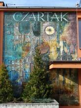 Gorzeń Czartak | | Bolesław Książek | obraz ceramiczny | ceramic wall