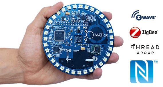 MATRIX Creator ajoute les technologies IR, NFC, Z-Wave, ZigBee et Thread à votre Raspberry Pi ! - http://blog.domadoo.fr/59653-matrix-creator-ajoute-technologies-ir-nfc-z-wave-zigbee-thread-a-raspberry-pi/