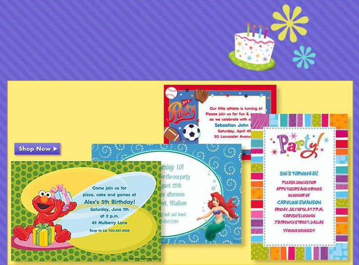 101 best images about Birthday Party Invitations – Custom Birthday Invitations
