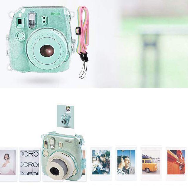 Katia Instant Camera Accessories Bundle Compatible For Fujifilm Instax Mini 9 Mini 8 Fujifilm Instax Mini Instant Film Camera Instax Mini Film