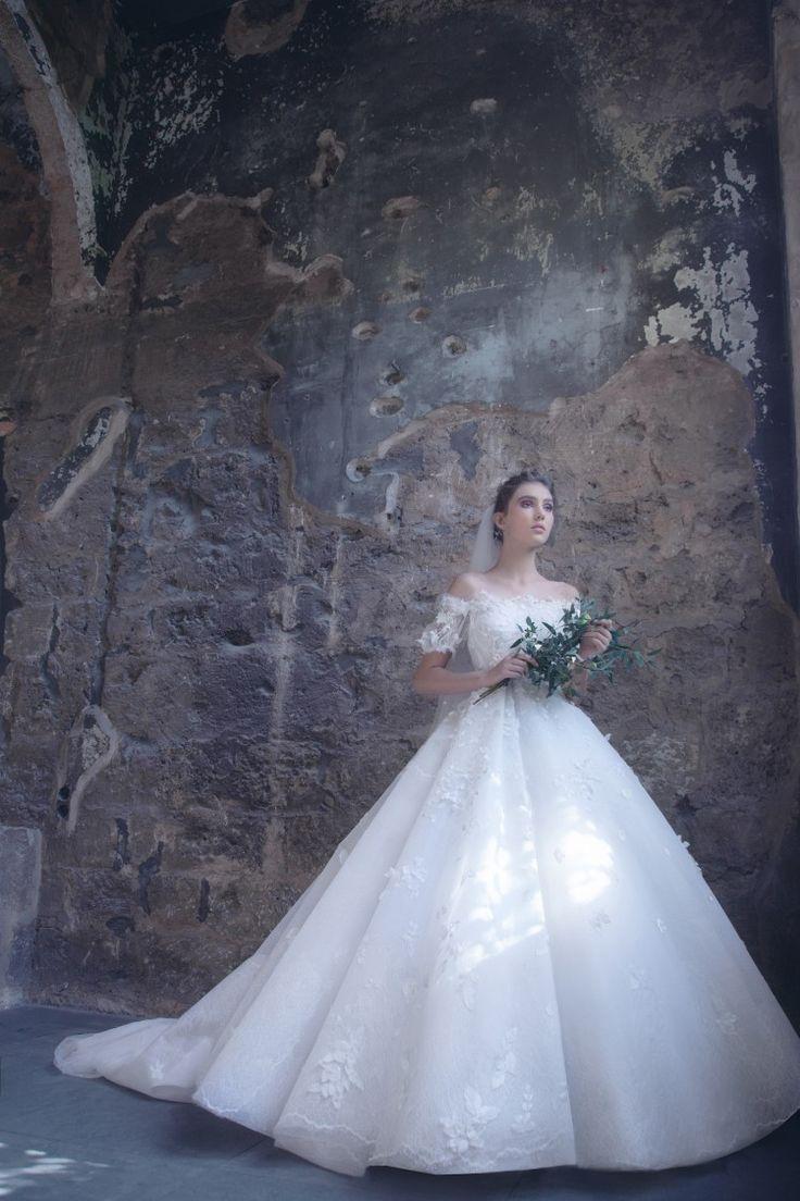 10 best Sara Mrad - Bridal SS18 images on Pinterest | Bridal, Bride ...