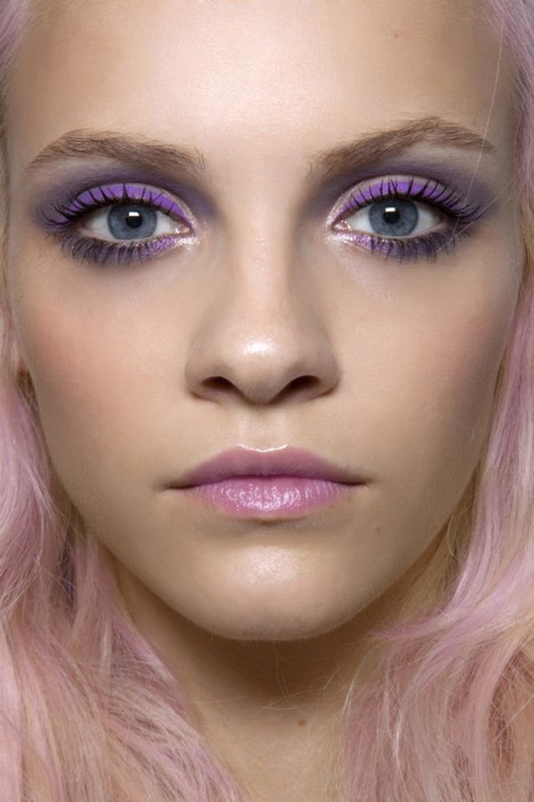 LOVE this look for winter! pretty pastels will take you from cold-weather dreary to wonderland pretty with the swipe of your brush!