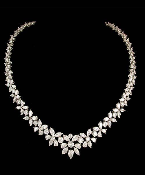 Gorgeous wedding diamond necklace                                                                                                                                                     More
