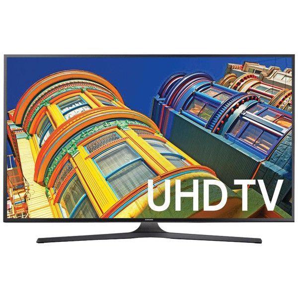 """SAMSUNG UN43KU6300FXZA 43"""" Class 4K Ultra HD Smart TV"""