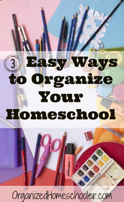 This makes organizing homeschool supplies look super easy! I need to go check out my thrift store!