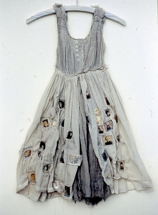 I'm in love with Louise Richardson's shoes, clothes, butterflies, books, fiber art, and paper works. Wonderful combination of materials and...