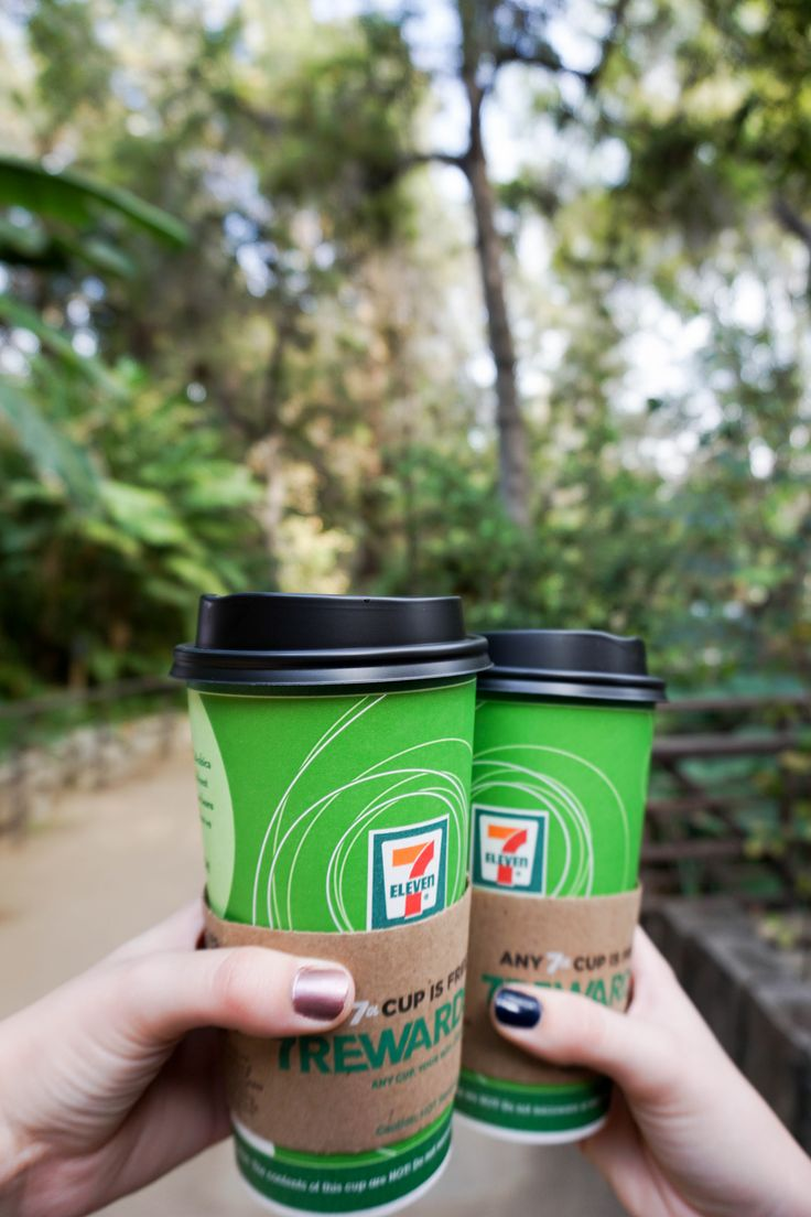Britta and Carli tell us all about their weekend fall morning routine and it starts with 7-Eleven! | Client