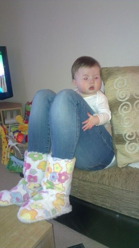 (This is not a tiny baby with fully grown legs.) | 24 Photos You Need To Really Look At To Understand
