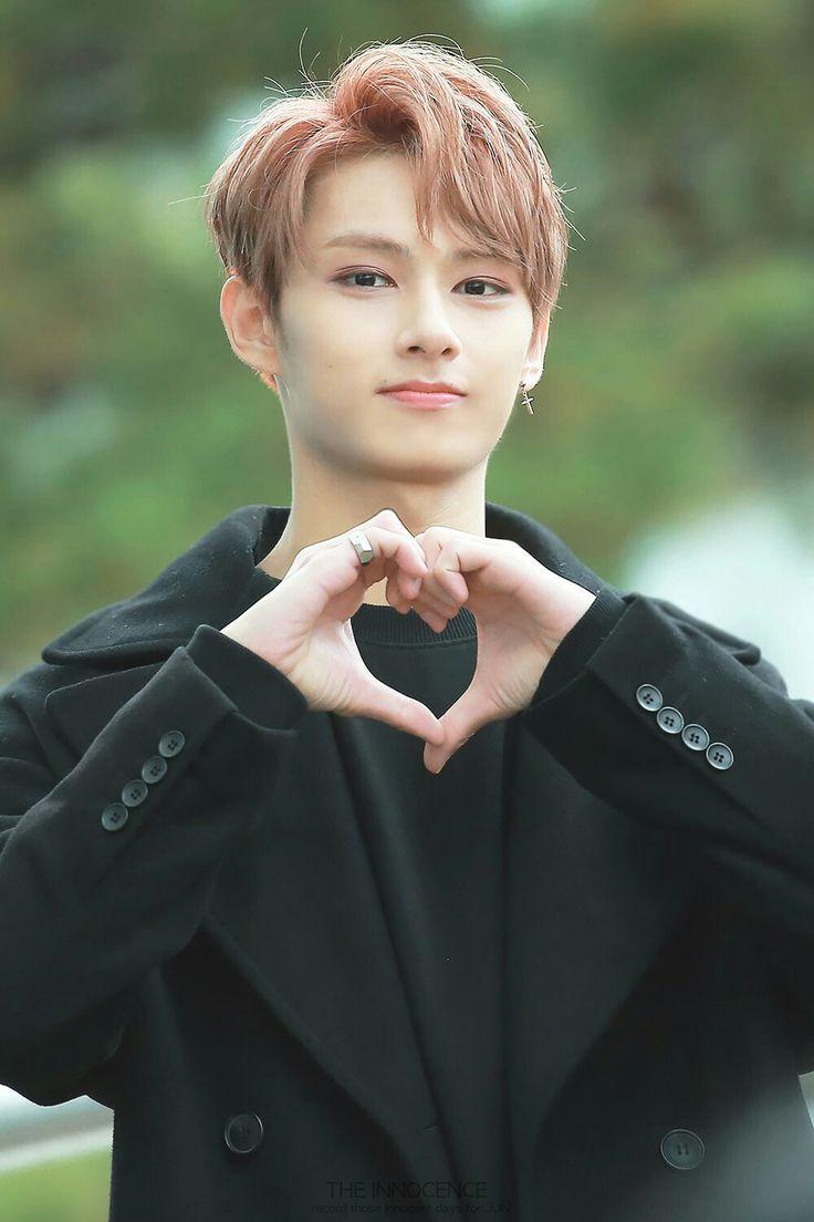 Love From Jun Jun Seventeen 17 Love Sign Handsome