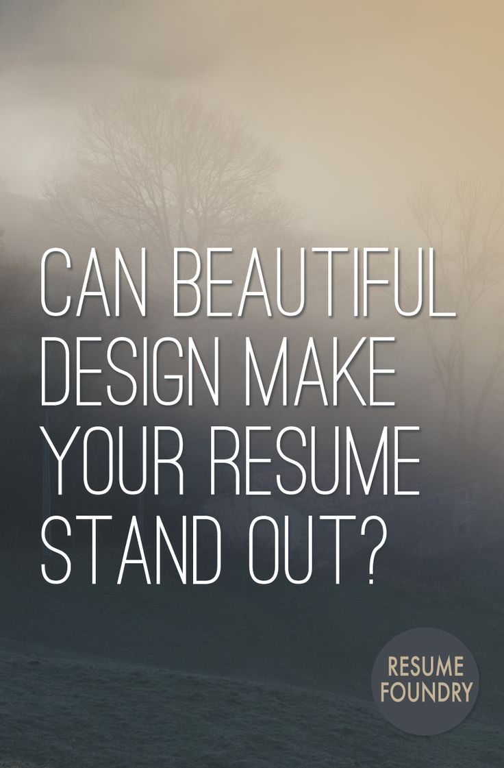 Beautiful Resume Design 167 best Career Advice