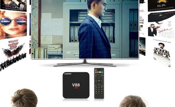 ''Scishion V88: Mi primera Android TV Box . Una historia real''
