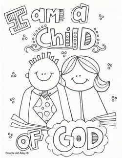 children of god coloring pages - photo#6
