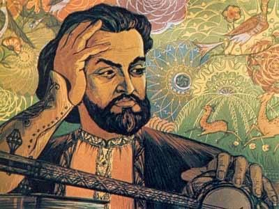 Саят-Нова псевдоним Арутюна Саядяна (1712—1795) — армянский поэт и музыкант  (ашуг), мастер любовной лирики.