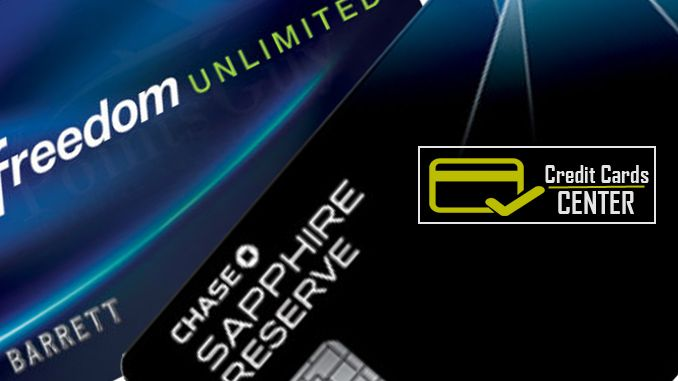 Chase Freedom Unlimited Vs Chase Sapphire Reserve Credit Card Karma Credit Card Compare Credit Cards Compare Cards
