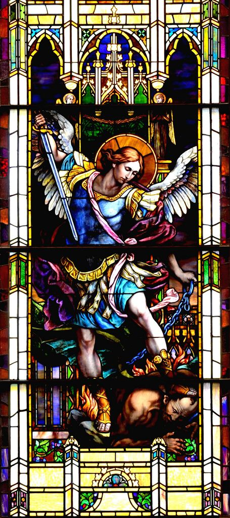 https://flic.kr/p/ax7J5u | Archangel Saint Michael - Saint Michel Archange | Located at the magnificent St-Patrick Basilica, Montreal.