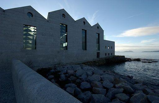 Aldo Rossi   Museo del Mar, Vigo, Spain