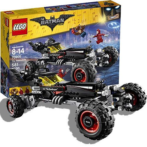 Lego Batman The Movie Batmobile & 5 Action Mini Figures Birtday Gift For Boys