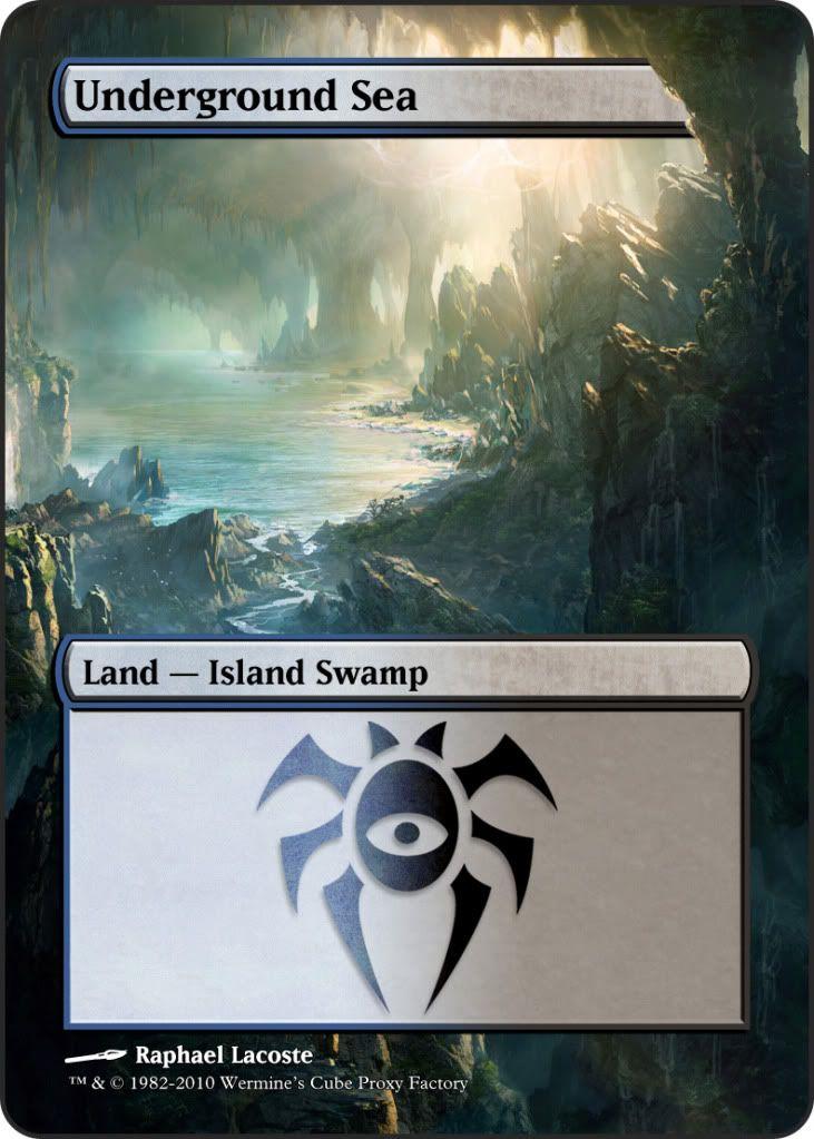Magic The Gathering Underground Sea Proxy