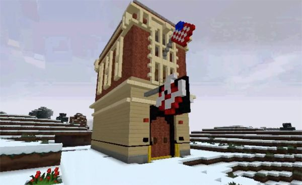 Ghostbusters firehouse gets remade in Minecraft | GhostbustersNews.com - Ghostbusters news, media, and fan creations!