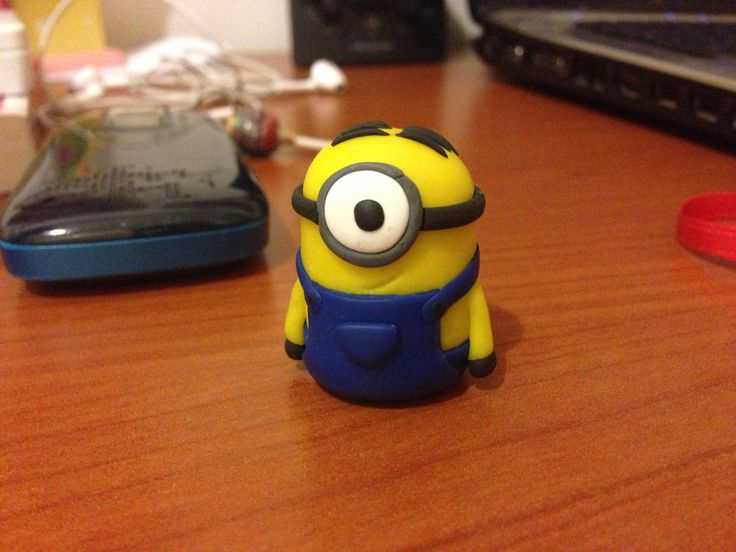 Minion, Despicable Me. *Fimo* #minion #minions #fimo