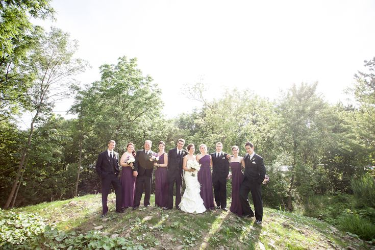 Ancaster Mill wedding party casual