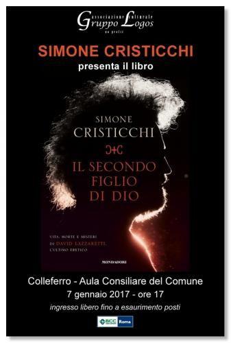 Lazio: #Colleferro sabato 7 nella sala consiliare sarà presentato il libro Il secondo figlio di Dio ... (link: http://ift.tt/2je1WHj )